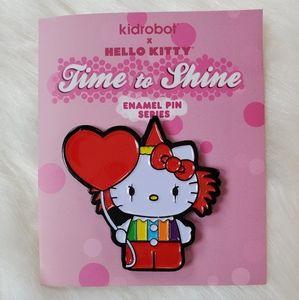 Kidrobot x Hello Kitty Enamel Pin